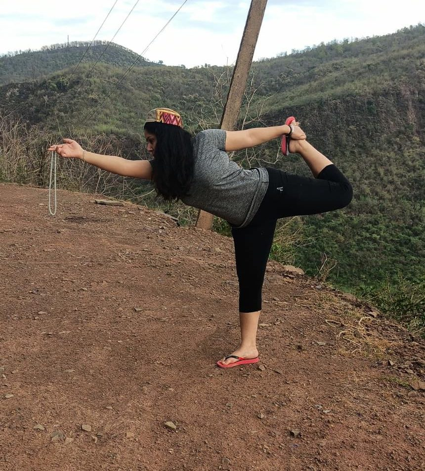Yoga in Mountains