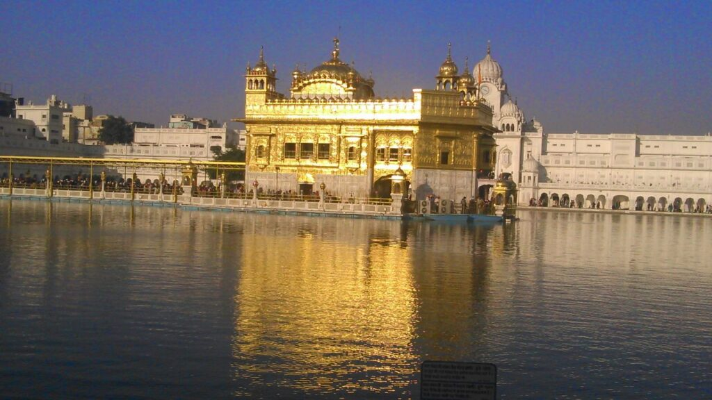 Golden Temple in evening